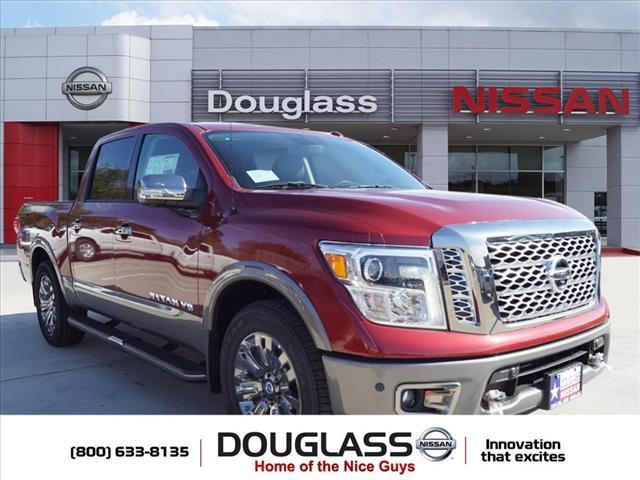 New 2018 Nissan Titan Platinum Reserve 4dr 4x2 Crew Cab 5.6 ft. box 139.8 in. WB