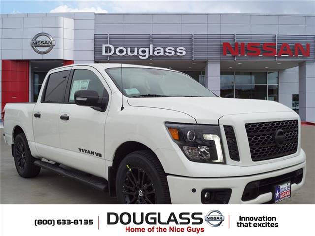 New 2019 Nissan Titan SV 4x2 Crew Cab 5.6 ft. box 139.8 in. WB