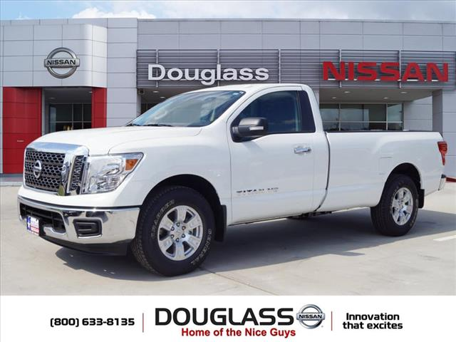 New 2018 Nissan Titan SV 4x2 Single Cab 8 ft. box 139.8 in. WB