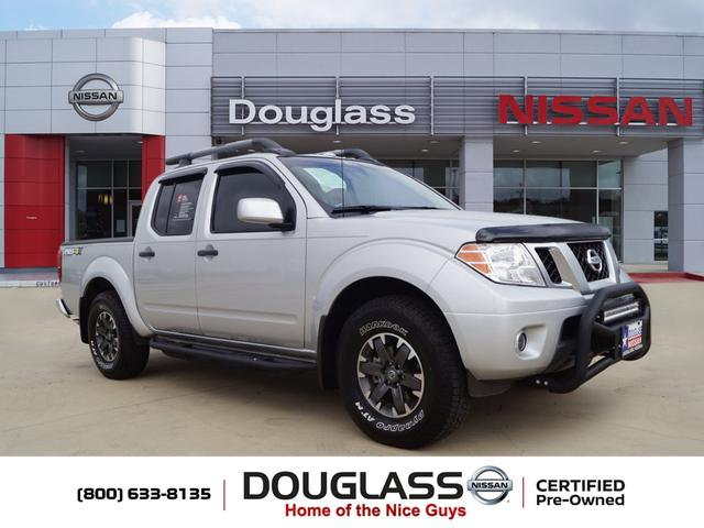 Pre Owned 2018 Nissan Frontier Pro 4x 4x4 Crew Cab 4 75 Ft Box