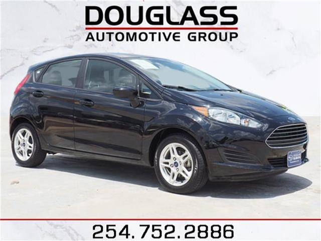 College Station Ford >> Pre Owned 2018 Ford Fiesta Front Wheel Drive Se 4dr Hatchback