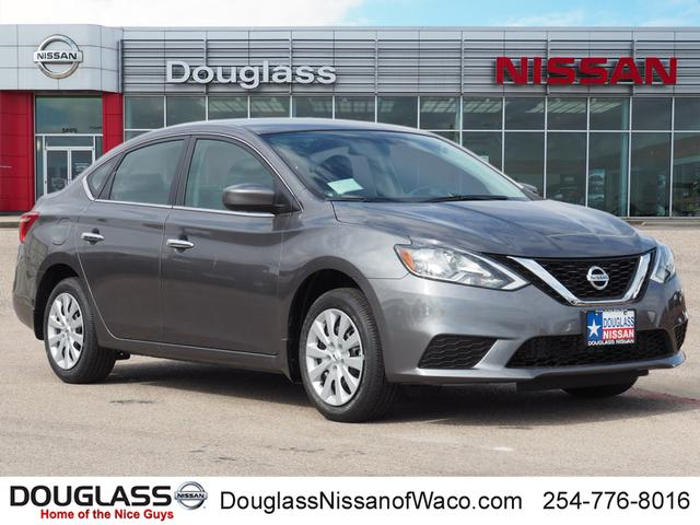 New 2019 Nissan Sentra S (M6) 4dr Sedan