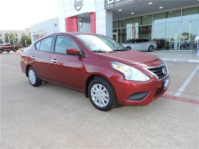 New 2019 Nissan Versa 1.6 SV 4dr Sedan
