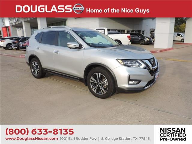 Certified Pre-Owned 2017 Nissan Rogue SL 4dr Front-wheel Drive