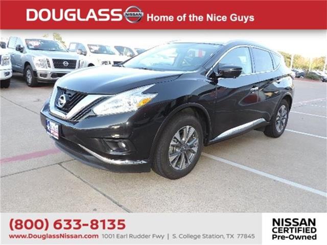 Pre-Owned 2017 Nissan Murano SL 4dr Front-wheel Drive 2017.5