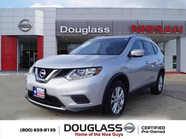 Certified Pre-Owned 2015 Nissan Rogue SV Front-wheel Drive