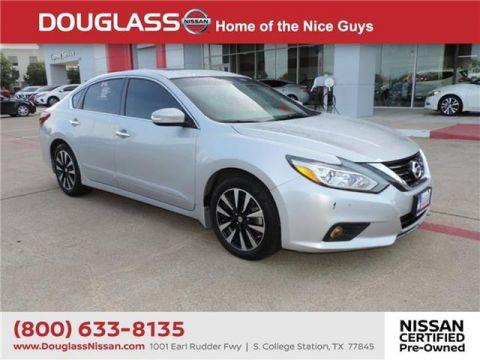 Pre-Owned 2018 Nissan Altima 2.5 SV 4dr Sedan