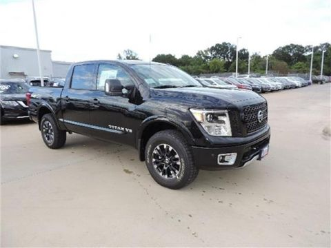 New 2019 Nissan Titan PRO-4X 4dr 4x4 Crew Cab 5.6 ft. box 139.8 in. WB