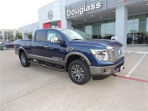 New 2019 Nissan Titan XD Platinum Reserve Diesel 4dr 4x4 Crew Cab 6.6 ft. box 151.6 in. WB