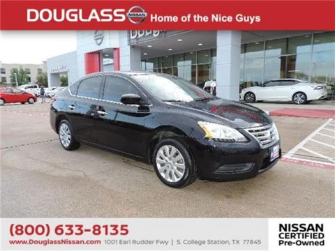 Pre-Owned 2015 Nissan Sentra S (M6) Sedan