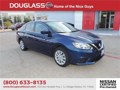 Certified Pre-Owned 2018 Nissan Sentra S (CVT) 4dr Sedan