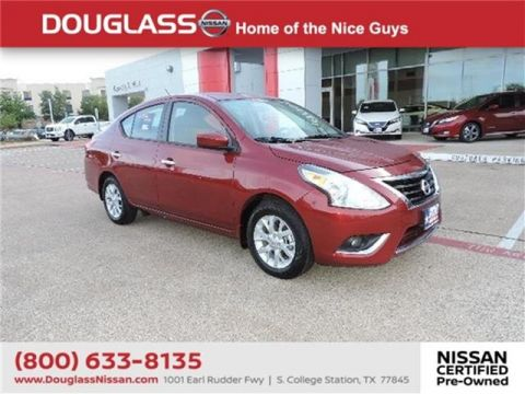 Pre-Owned 2018 Nissan Versa 1.6 SV Sedan