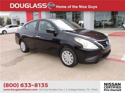 Pre-Owned 2018 Nissan Versa 1.6 SV 4dr Sedan