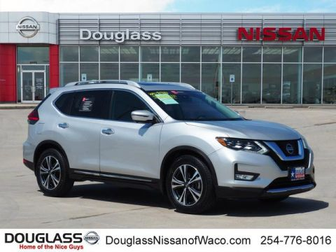 Pre-Owned 2017 Nissan Rogue SL 4dr Front-wheel Drive