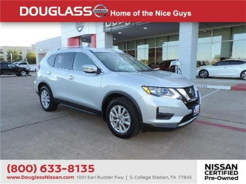 Pre-Owned 2019 Nissan Rogue S Front-wheel Drive