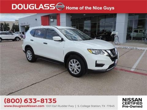 Certified Pre-Owned 2018 Nissan Rogue S 4dr Front-wheel Drive