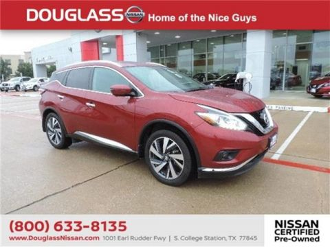 Pre-Owned 2017 Nissan Murano Platinum 4dr Front-wheel Drive