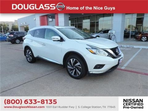 Certified Pre-Owned 2017 Nissan Murano Platinum 4dr Front-wheel Drive