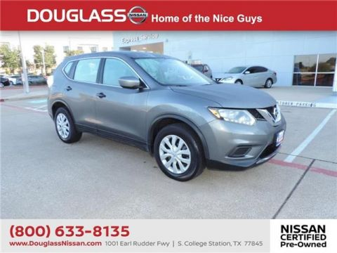 Certified Pre-Owned 2016 Nissan Rogue S 4dr Front-wheel Drive