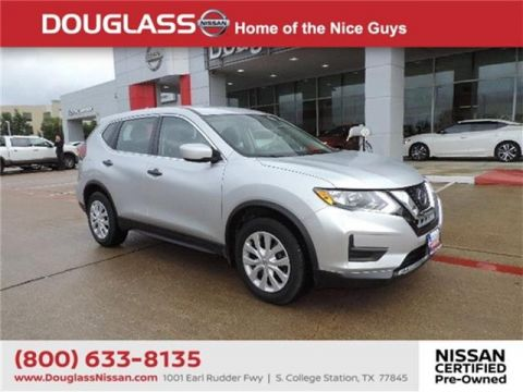 Pre-Owned 2018 Nissan Rogue S Front-wheel Drive