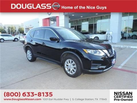 Pre-Owned 2017 Nissan Rogue S Front-wheel Drive